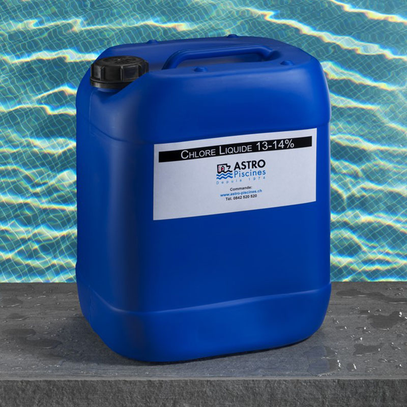 Chlore brome oxyg ne actif comment choisir for Chlore liquide piscine
